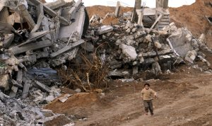 Israeli military offensive aftermath in the Gaza Strip