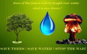 save trees green